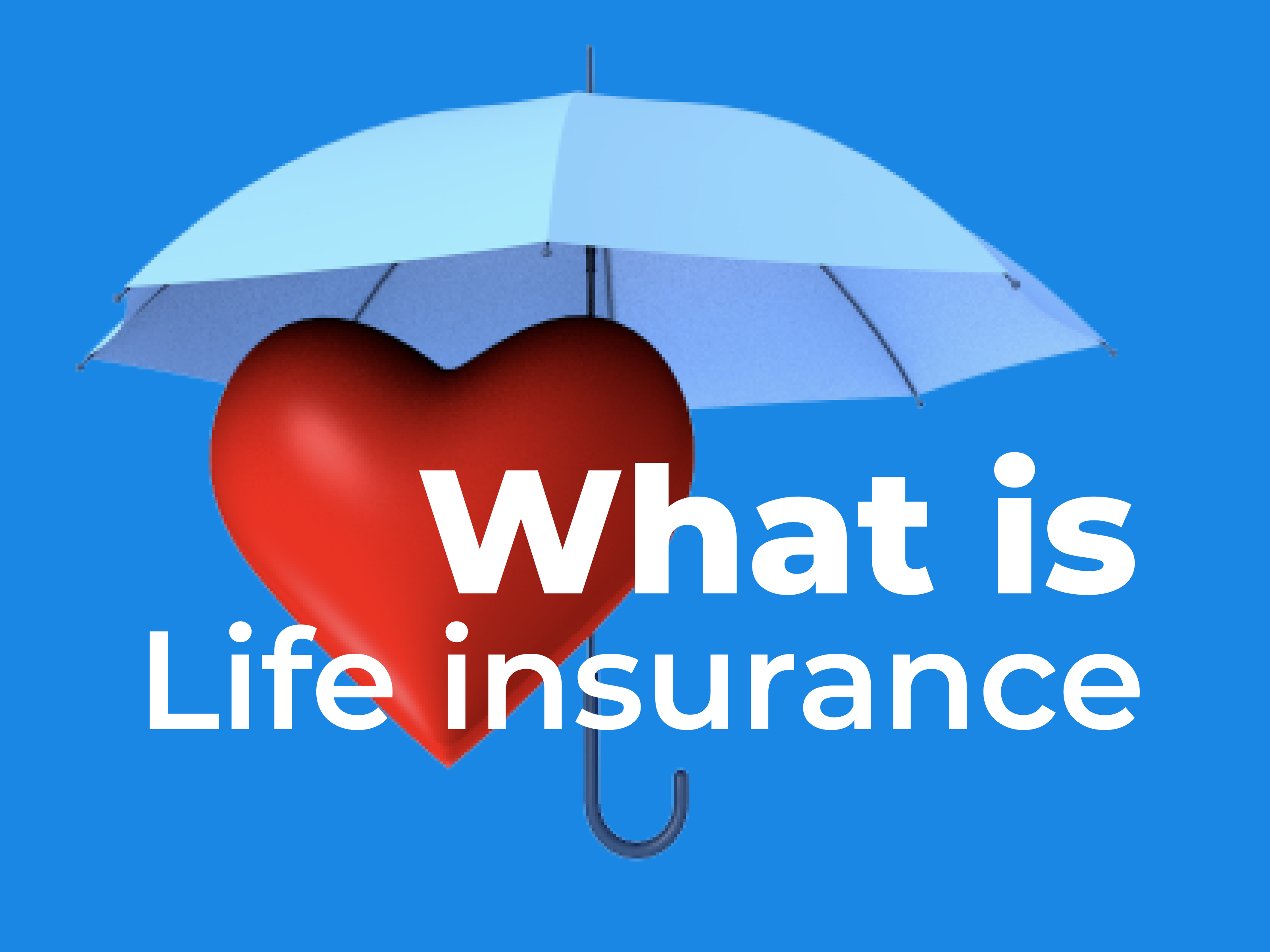 What is life insurance banner image